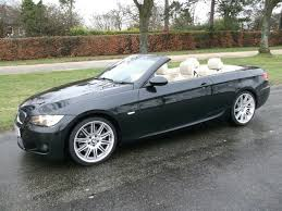 used bmw 3 series uk used bmw 3 series 2009 black paint petrol 335i m sport convertible