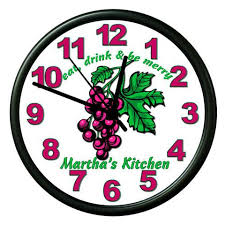 personalized clocks with pictures personalized clocks thompson custom gifts