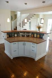kitchen islands bars best 25 curved kitchen island ideas on kitchen floor