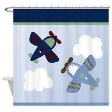 Airplane Shower Curtain Airplane Shower Curtain House Decor Pinterest Showers