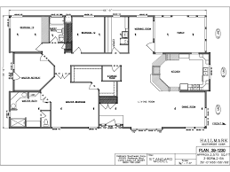 ranch homes floor plans modern ranch house plans as well redman double wide mobile homes floor