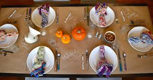thanksgiving table decorating ideas cheap holiday one charming life
