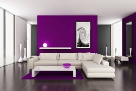 interior purple wall paint house ideas yellow pink adorable