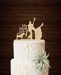 funny wedding cake toppers silhouette drunk bride and groom with