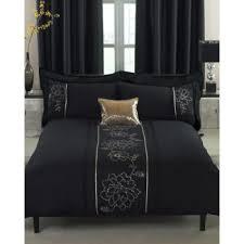 Cheap King Size Duvet Sets Bedroom Sophia Blackwhite Printed Super King Size Duvet Cover Bed