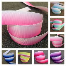 printed grosgrain ribbon ombre printed grosgrain ribbon 22mm 38mm 75mm