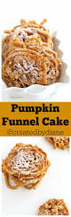 pumpkin funnel cake created by diane