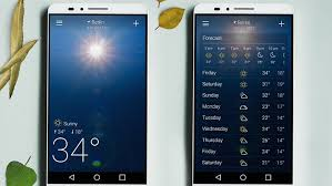 yahoo apps for android 10 best weather apps and widgets for android androidpit