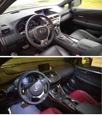 lexus nx interior my rx vs nx ownership detailed comparison clublexus lexus