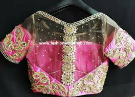 pattern of net blouse latest maggam work blouse designs 60 designs fashionworldhub