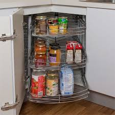 kitchen corner cabinet hinges bunnings restored 900mm 3 tier chrome pullout rotating corner