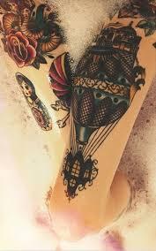 tattoo oberschenkel verspielt tattoos pinterest oberschenkel