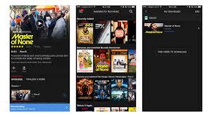 netflix adds offline viewing for smartphones and tablets techcrunch