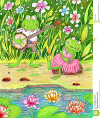 romantic frogs royalty free stock images image 32302069