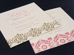 indian wedding invitations usa sumptuous indian wedding cards usa supriya blogs