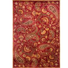 Paisley Area Rug Home Dynamix Paisley 5 Ft 2 In X 7 Ft 2 In Area Rug 2