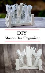 Desk Organizer Diy by Diy Mason Jar Desk Organizer Using Scrap Wood Anika U0027s Diy Life