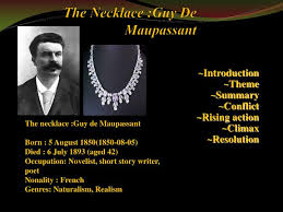 necklace story images Ppt the necklace guy de maupassant powerpoint presentation id jpg