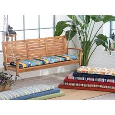 Patio Glider Bench Coral Coast Classic 53 X 14 In Porch Swing U0026 Glider Outdoor
