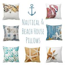 theme pillows beautiful nautical and theme decorative throw pillows