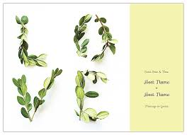 Invitation Cards Maker Free Lovely Laurel Invitation Card Design Template