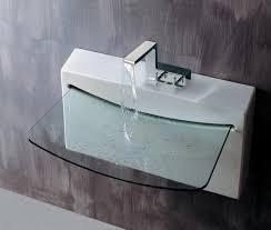 Glass Vanity Sinks Amusing Another Image U0026 Photo Ideas Of Bathroom Vanity With Glass