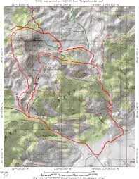 Caprock Canyon State Park Map by Wild Horse Mountain Bike Trail System At Goblin Valley State Park