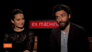 exclusive video interview oscar isaac and alicia virkander talk