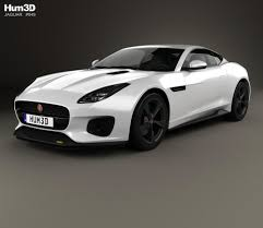 jaguar f type custom jaguar f type 400 sport coupe 2017 3d model hum3d