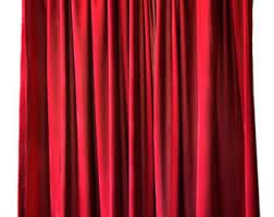 Burgundy Velvet Curtains Burgundy Curtains Etsy