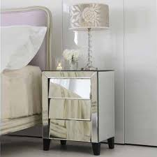 Bedroom Mirror Furniture by 10 Classy Mirrored Bedside Table Designs Rilane