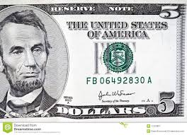 coloring page 5 dollar bill alltoys for