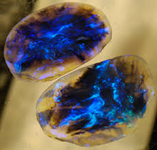 green opal rock late night quicky lightning ridge black opal and lightning