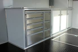race car trailer cabinets enclosed trailer cabinets best cabinets decoration