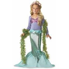 Walmart Childrens Halloween Costumes Lil U0027 Mermaid Child Halloween Costume Walmart