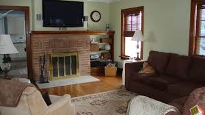 sage green and brown living room u2013 modern house