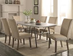 chair awesome amazing white dining chairs with nailhead trim