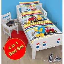 Ninjago Bedding Set Junior Toddler 4 In 1 Bedding Set Duvet Covers Quilt Pillow