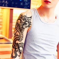 dragon tattoo arm online buy wholesale dragon tattoo arm from china dragon tattoo