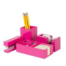 Pink Desk Accessories Set 9 Best Pink Desk Accessories Images On Pinterest Desk