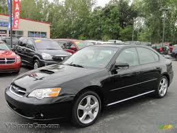 obsidian black color 2006 subaru legacy 2 5 gt limited sedan in obsidian black pearl