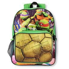 teenage mutant ninja turtles boys teenage mutant ninja turtles backpack and lunch box set the