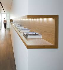 Wood Interior by Interior Architecture Wood Shelf With In Built Light Neat And