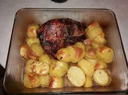 cuisiner palette de porc palette de porc demi sel rôtie au four recette de palette de porc