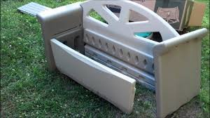 rubbermaid bench with storage rubbermaid storage bench bench ideas