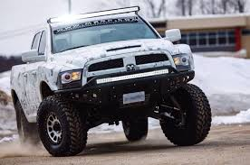 custom front bumpers for dodge trucks 2009 up ram 1500 ecodiesel stealth front bumper road