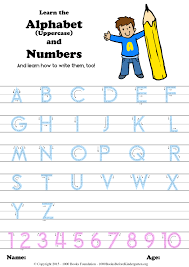 learn the alphabet u0026 numbers and how to write them too u2013 1000