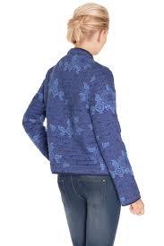 la fiancee du mekong achat en ligne la fiancee du mekong veste pfvg1622 bleu foncé femme des marques