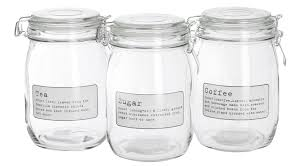 Clear Glass Canisters For Kitchen by Objects Of Design 110 Kitchen Storage From Jasper Conran Mad