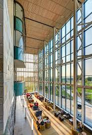 old meets new in stantec u0027s pew library archpaper com